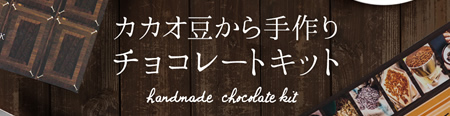 カカオ豆から手作りチョコレートキット