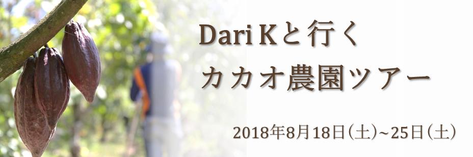 DariKと行く カカオ農園ツアー
