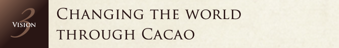 Changing the world through Cacao