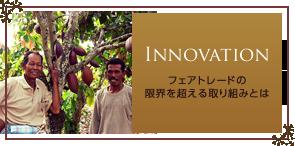 Innovation フェアトレードの限界を超える取り組みとは