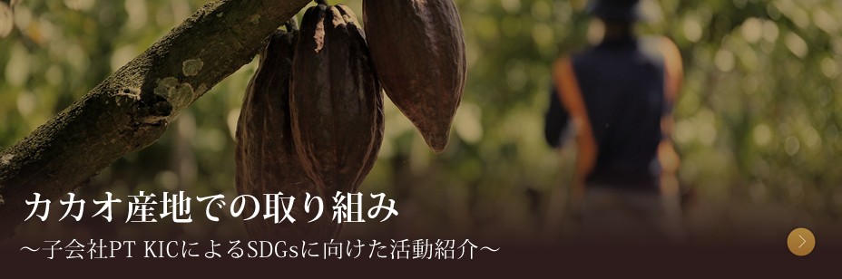 カカオ産地での取り組み ~子会社PT KICによるSDGsに向けた活動紹介~