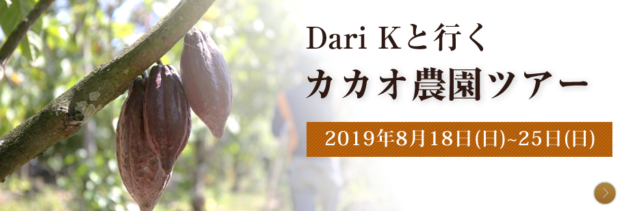 Dari Kと行く カカオ農園ツアー2019
